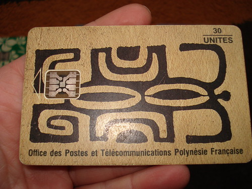 Polynesian phonecard by *manuworld*