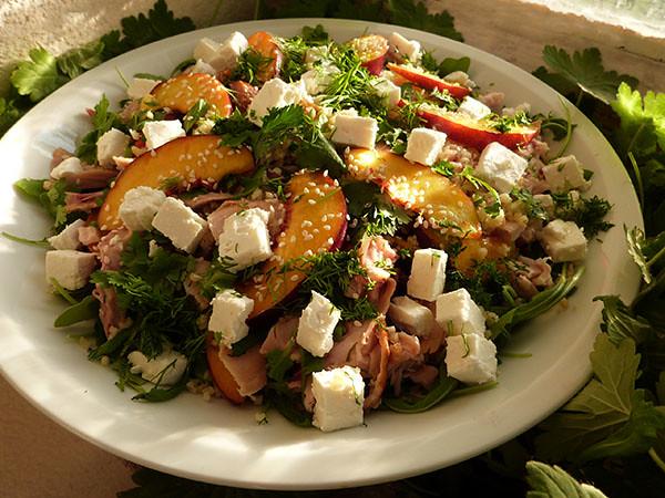 salade nectarine