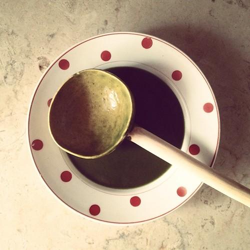 A sopa de espinafre