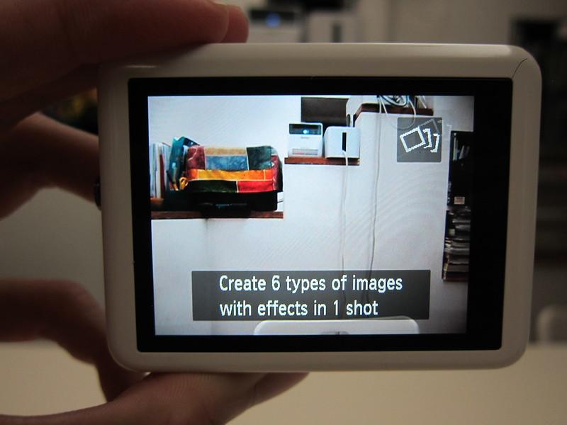 Canon PowerShot N - Creative Shot Mode