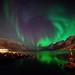 night in Ersfjordbotn by John A.Hemmingsen