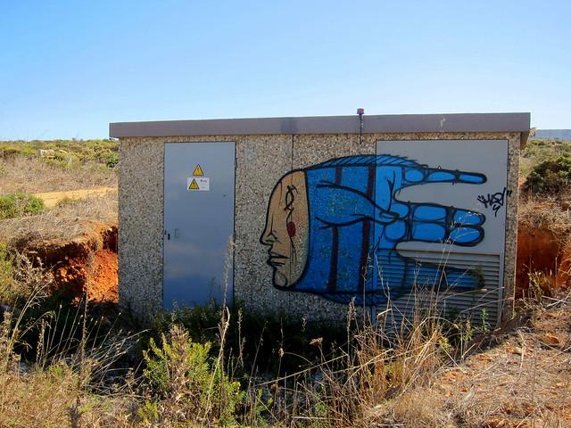graffiti | gonçalo MAR | sagres . algarve . portugal 2013