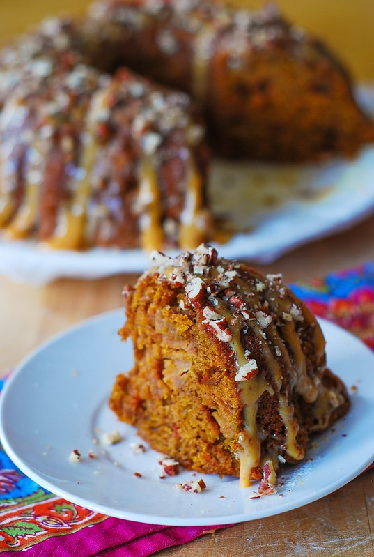 Apple pumpkin bundt cake, Thanksgiving recipes and desserts