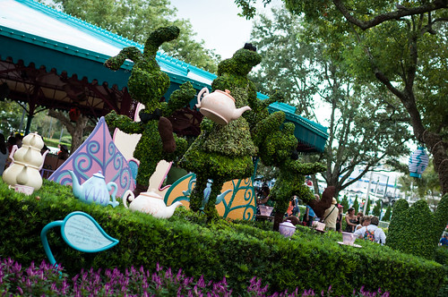 Leaky Topiary and Tea Pots by Jeff.Hamm.Photography