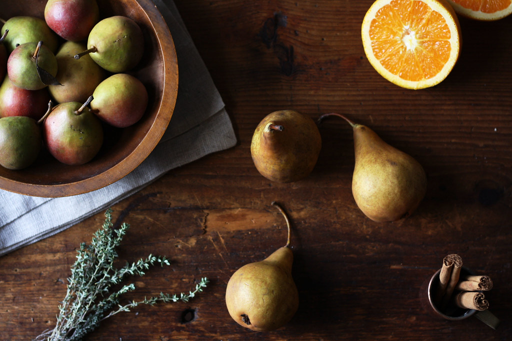 Red-Wine Poached Pears from Food52