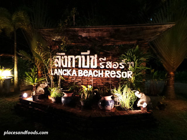 lang ka beach resort