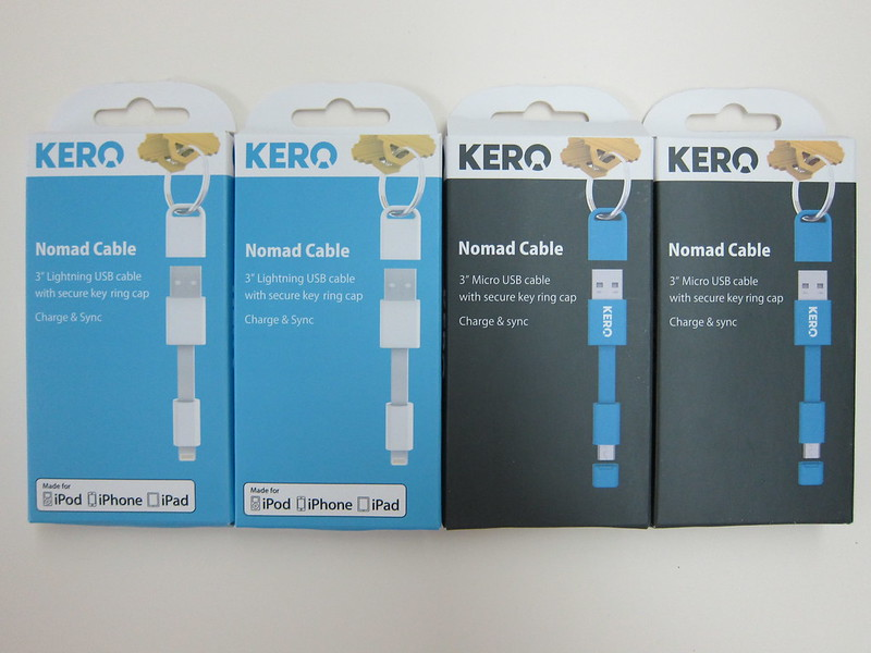 Kero Normad Cables - Box Front