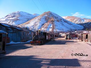 Gruvan Pulacayo - Bolivia