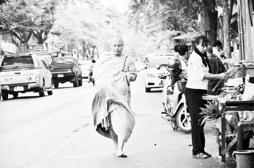 Charoen Krung Road Street scene of Bangkok
