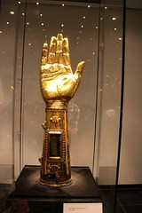 Charlemagne Arm Reliquary in Aachen Cathedral Treasury