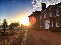 January Morning, Kent, England, UK.
