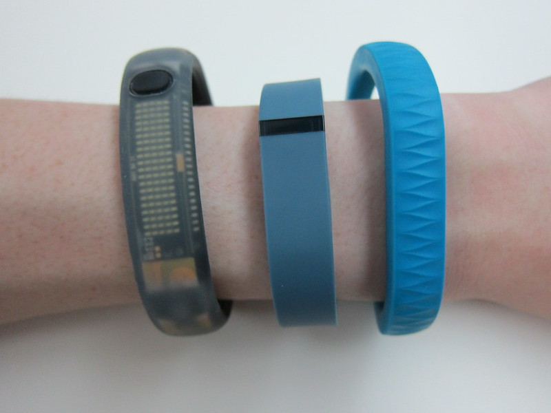Fitbit Flex - Wearing It With Jawbone UP & Nike FuelBand