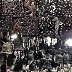#khmer decorative panels and bells #cambodia #phnompenh