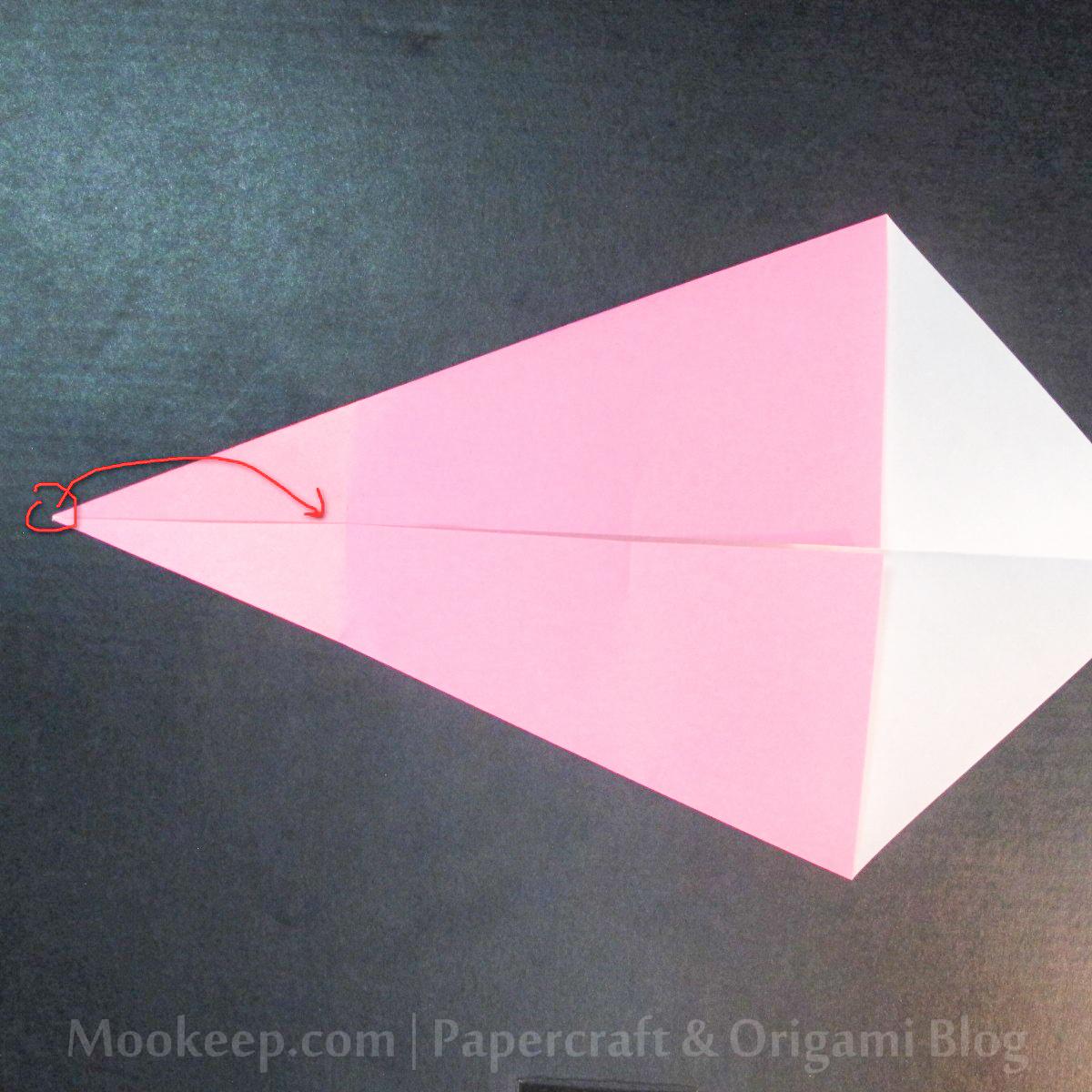 สอนวิธีการพับกระดาษเป็นรูปเป็ด (Origami Duck) - 012.jpg