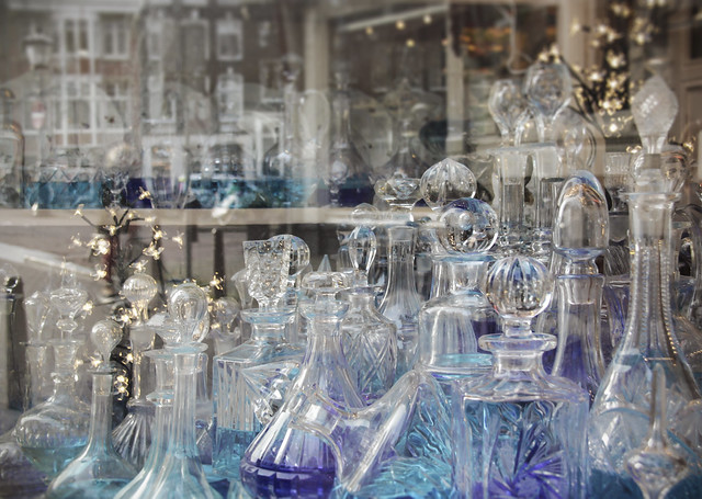 Antiques shop window - Amsterdam