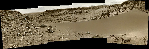 Curiosity sol 527 MastCam left