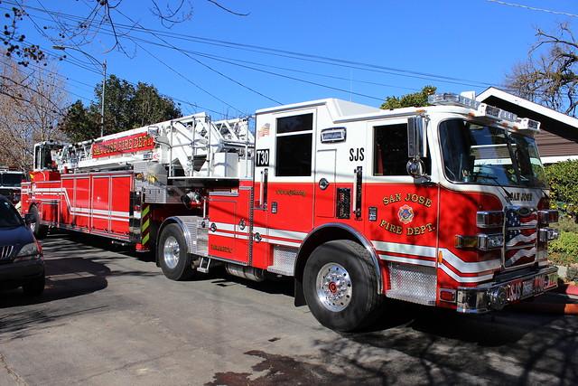 San Jose Fire Department Truck 30 Flickr Photo Sharing