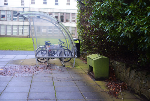 Bicycle Parking, University of Ulster Coleraine