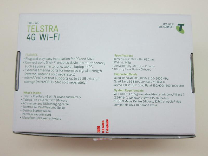 Huawei E5372 - Box Back