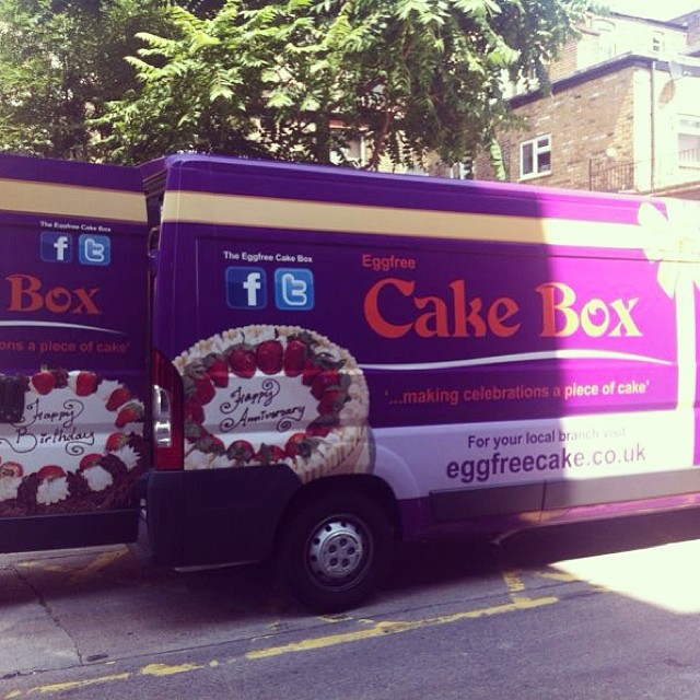 Keep an eye out for our new vans across the UK #van #cake # & Keep an eye out for our new vans across the UK #van #cake #cakebox ... Aboutintivar.Com