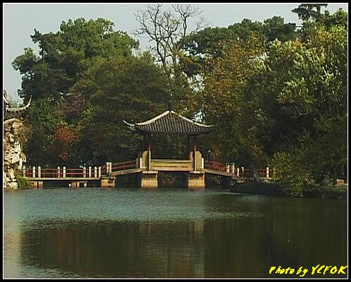 杭州 西湖 (其他景點) - 436 (西湖小瀛洲 上的亭台樓閣 用三種字體寫出 亭亭亭的亭)