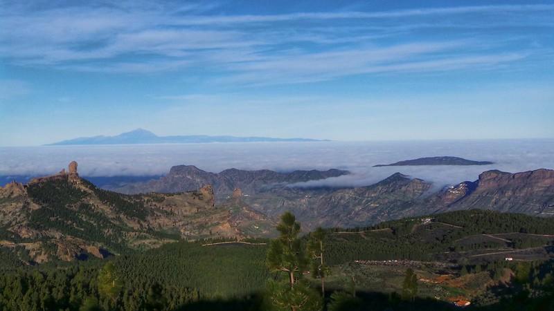 El mar de nubes en Artenara Gran Canaria
