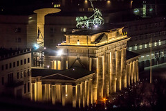 Brandenburg Gate, from Reichstag Dome