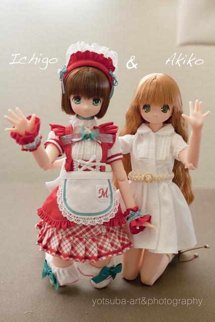 Ichigo y Akiko dicen, Hola!! 12762988773_23ba7e81a8_z