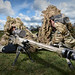 A Sniper Pair at Bisley Ranges by Si Longworth (Army Photographer)
