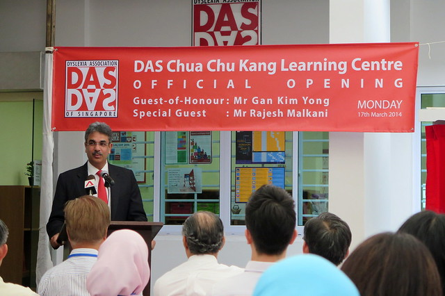 Jimmy Malkani at the DAS opening