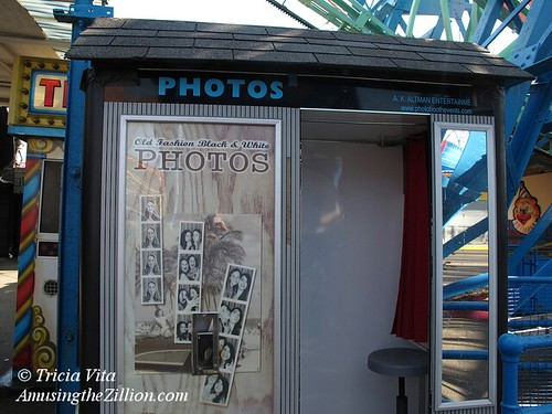 Photo Booth Under the Wonder Wheel