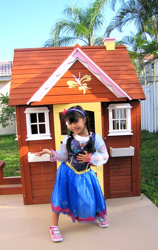 Princess Anna Singing in Her Cottage