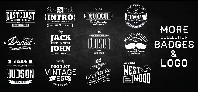 9 Whiskey Brands Label By Bnimit | Graphicriver