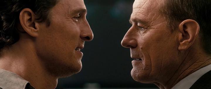 Matthew McConaughey and Bryan Cranston