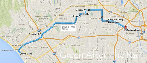 140404 LA Day Food Trip Route