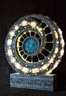 Catayst -  Mosaic light sculpture