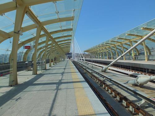 Aranszarv-öböl feletti metrómegálló