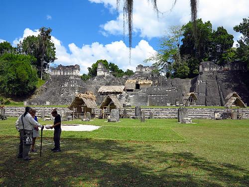 North Acropolis Tikal Guatemala