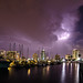 Lightning over St. Petersburg by James Boone