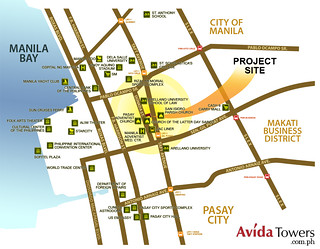 Avida_Towers_Prime_Taft_Project_Site_Map
