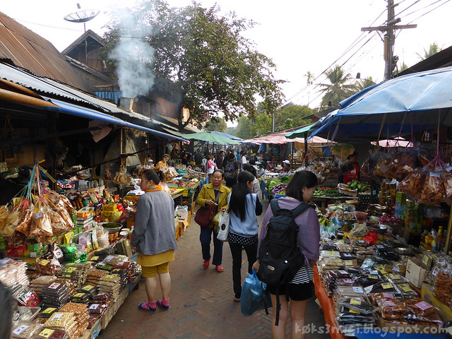 Luang Prabang Morning Market