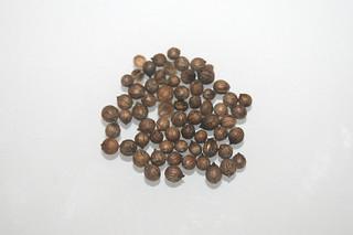 09 - Zutat Koriandersamen / Ingredient coriander seeds