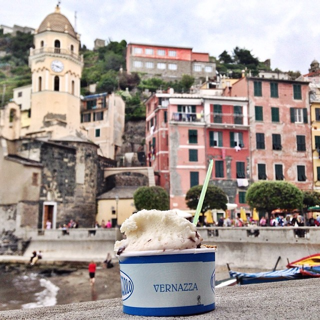 Our fourth stop in #cinqueterre was...