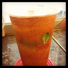 B cup - celery, carrot, pineapple, apple