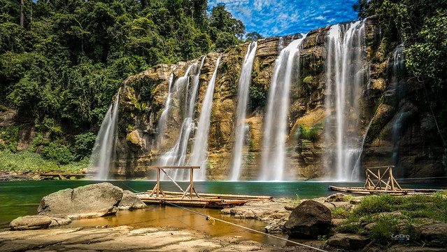 Tinuy-an Waterfalls of Bislig