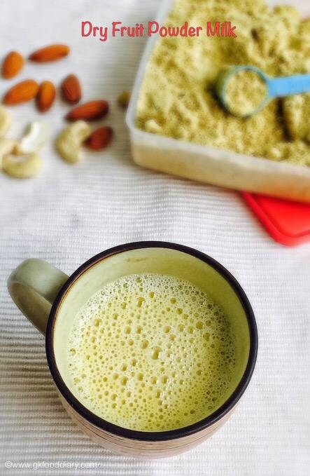 Dry Fruit Powder Milk 2