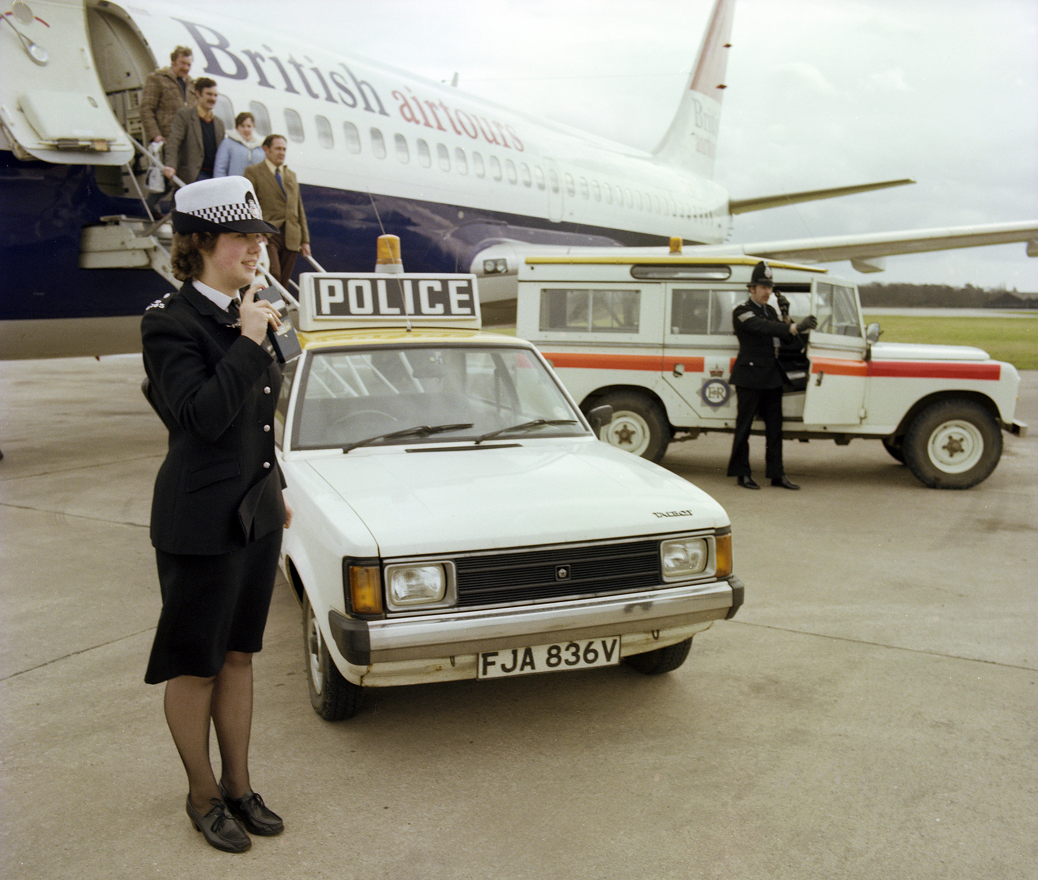 At the Airport in 1979