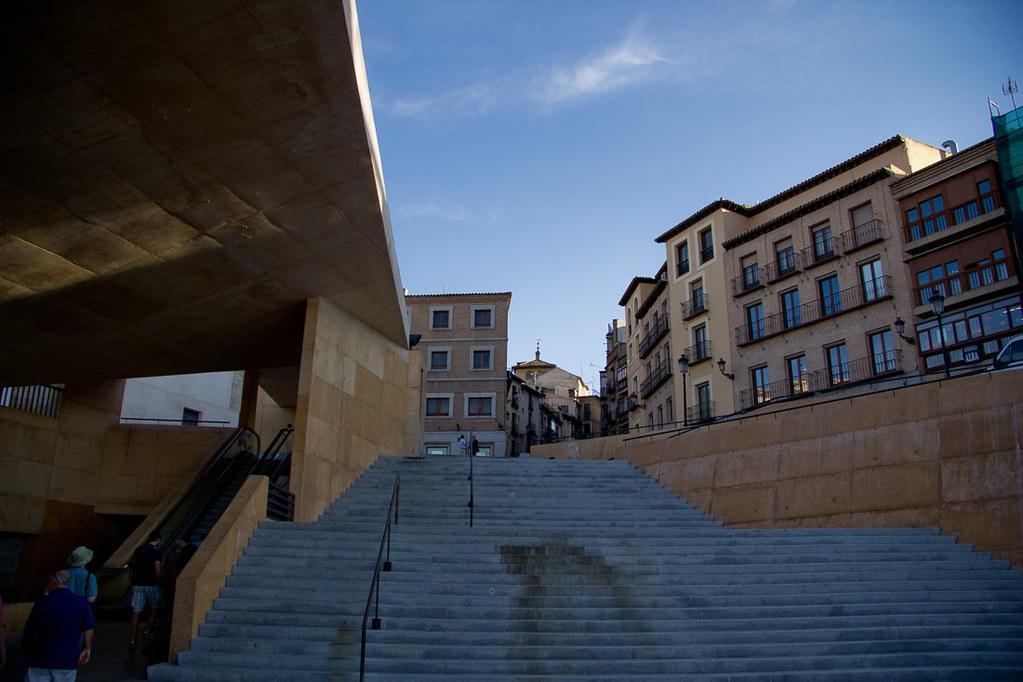 Steps in Toledo