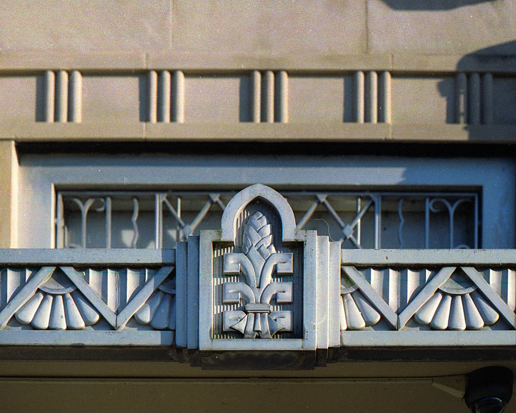 Bank Building Detail