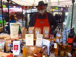 The ambassador for Norfolk - Camden farmer's market